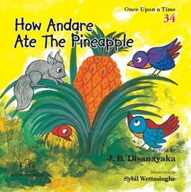 HOW ANDARE ATE THE PINAPLE