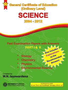 SCIENCE – 2004 to 2012 OL Past Papers and Answers